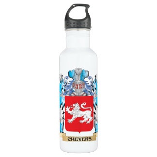 Chevers Coat of Arms - Family Crest 24oz Water Bottle