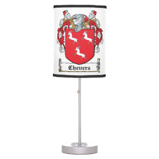 Chevers Family Crest Lamps