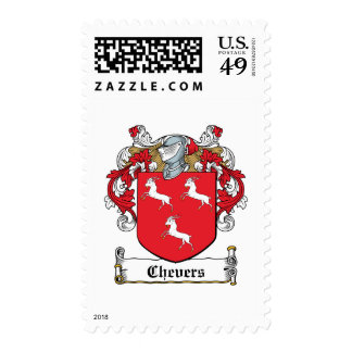 Chevers Family Crest Stamp