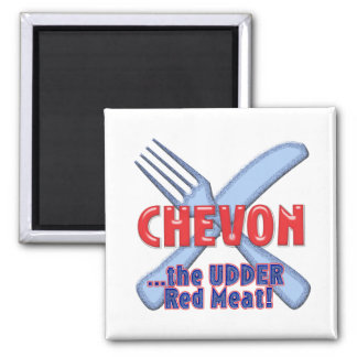 CHEVON the UDDER MEAT ( the other red meat) GOAT Magnet