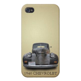 CHEVROLET 1940 1 iPhone 4/4S CARCASAS