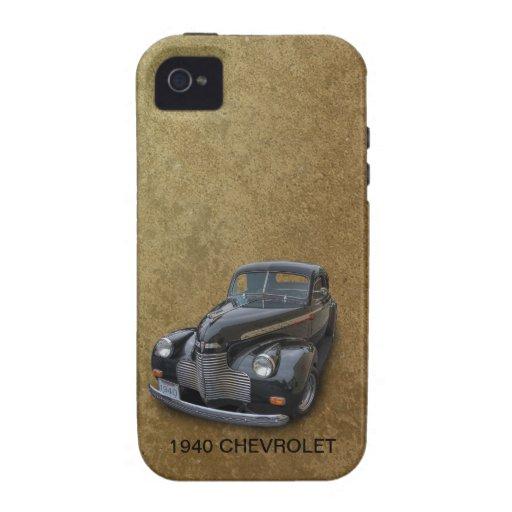 CHEVROLET 1940 2 iPhone 4 CARCASAS