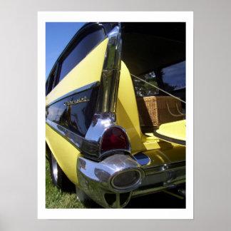 Chevrolet 1950s poster