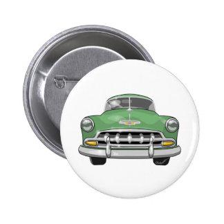 Chevrolet 1952 de lujo pin redondo de 2 pulgadas