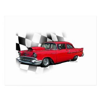 Chevrolet 1957 Dragster Postal