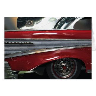 Chevrolet 1957 greeting card