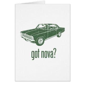 Chevrolet 1966 Nova SS Tarjeta
