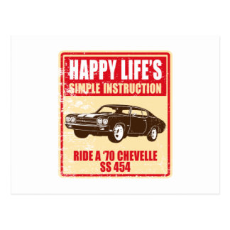 Chevrolet 1970 Chevelle SS 454 Postales