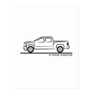 Chevrolet 2010 Silverado Tarjetas Postales
