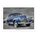 Chevrolet '41 de lujo principales postales