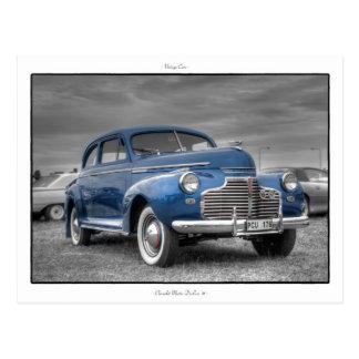 Chevrolet '41 de lujo principales postal