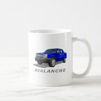 Chevrolet Avalanche Blue Coffee Mug
