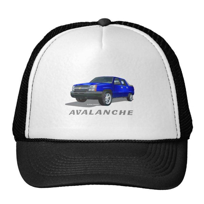 Chevrolet Avalanche Blue Trucker Hat