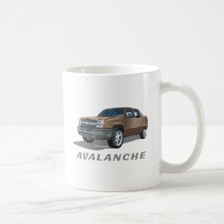 Chevrolet Avalanche Gold Coffee Mug