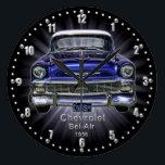 "Chevrolet Bel-Air 1956 Quartz Wall Clock<br><div class=""desc"">This is from an Era when cars when the design of cars was treated as an artform.</div>"
