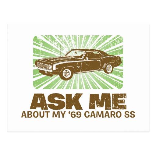 Chevrolet Camaro 1969 SS Postales