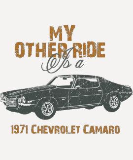 Chevrolet Camaro 1971 Camisetas