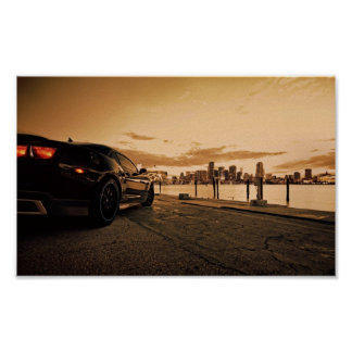 Chevrolet Camaro 2013 ZL1 Posters