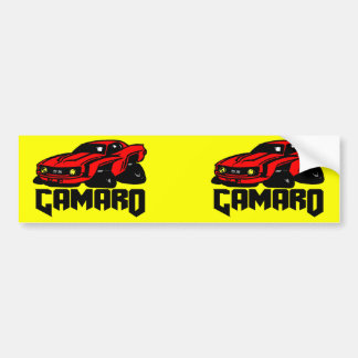 Chevrolet Camaro SS Bumper Sticker