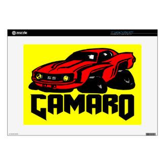 """Chevrolet Camaro SS Skin For 15"""" Laptop"""