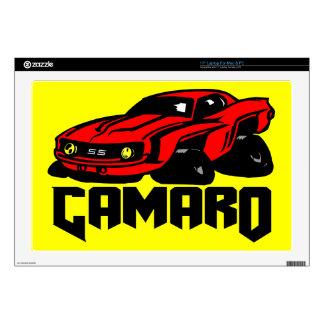 """Chevrolet Camaro SS Skins For 17"""" Laptops"""
