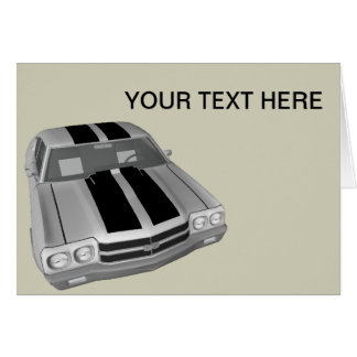 Chevrolet Chevelle SS Stationery Note Card