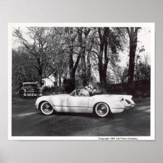 Chevrolet Corvette 1953 Póster