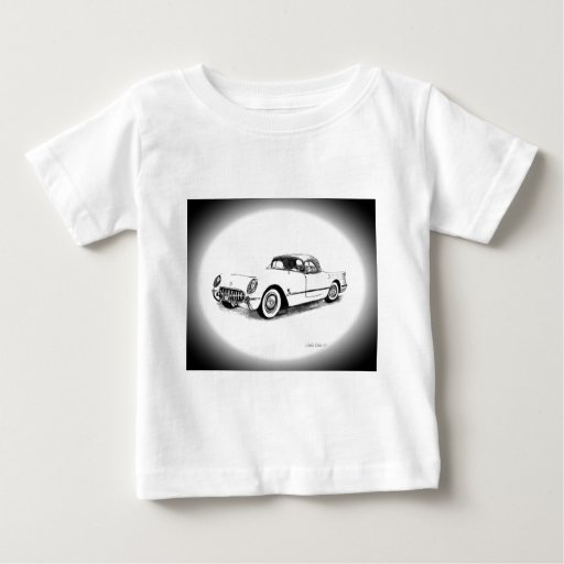 Chevrolet Corvette 1954 Camisetas
