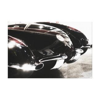 Chevrolet Corvette 1959 Impresion De Lienzo