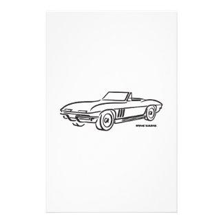 Chevrolet Corvette 1966 Papeleria De Diseño