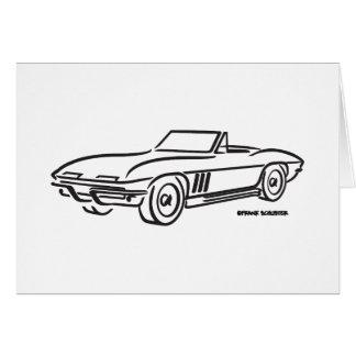 Chevrolet Corvette 1966 Tarjetón