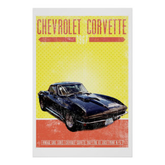 Chevrolet Corvette 1967 Impresiones