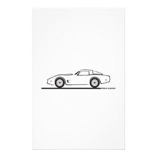 Chevrolet Corvette 1980-82 Papeleria De Diseño