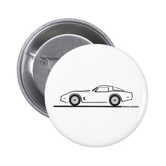 Chevrolet Corvette 1980-82 Pin