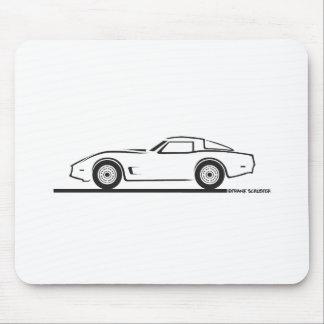 Chevrolet Corvette 1980-82 Tapete De Ratón