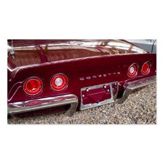 Chevrolet Corvette Business Card Template