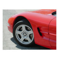 Chevrolet Corvette C5 print