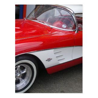 Chevrolet Corvette clásico Tarjetas Postales