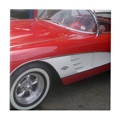 Chevrolet Corvette clásico Tejas Cerámicas
