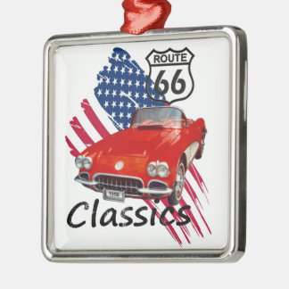 Chevrolet Corvette Classics Metal Ornament