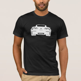 Chevrolet Corvette Graphic Dark Mens T-Shirt