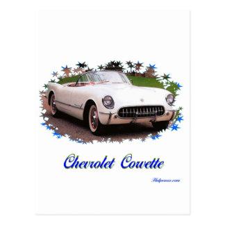 Chevrolet Corvette Tarjetas Postales