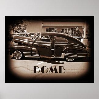Chevrolet Fleetline Lowrider Bomb Posters