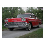 Chevrolet Impala 1958 Posters