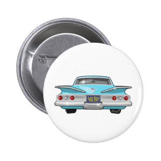 Chevrolet Impala 1960 Pin Redondo De 2 Pulgadas