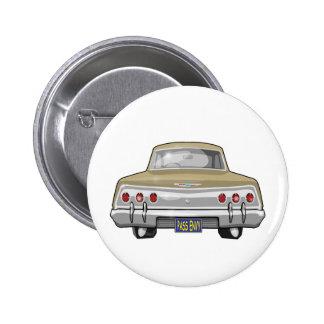 Chevrolet Impala 1962 Pin Redondo De 2 Pulgadas