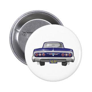 Chevrolet Impala 1964 Pin Redondo De 2 Pulgadas