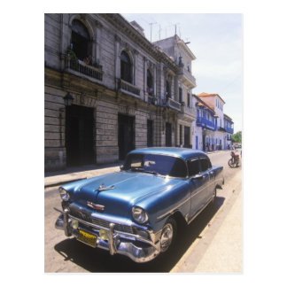 Chevrolet maravillosamente clásico restaurado de postal