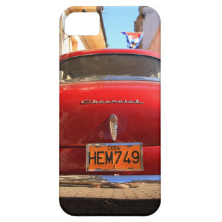 Chevrolet rojo funda para iPhone 5 barely there