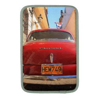 Chevrolet rojo fundas MacBook